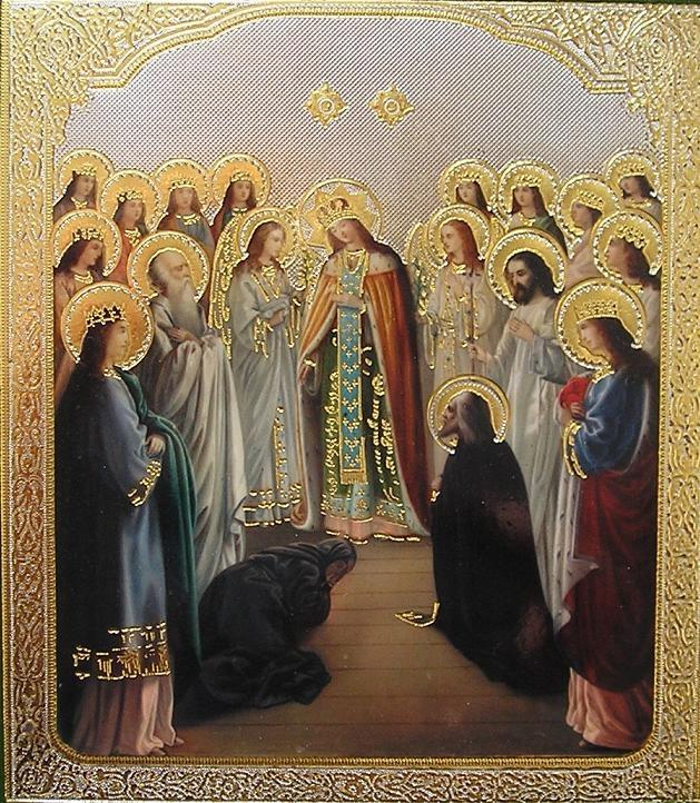 Явл. Божией Матери прп. Серафиму Саровскому в день Благовещения